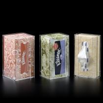 Vertical Tissue Box Dispensers
