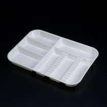 Divided Tray Size A - White