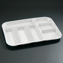 Divided Tray-White