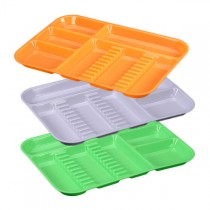 Divided Tray - Size B (Neon & Pastel)