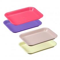 Flat Tray - Size F (Neon & Pastel)