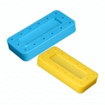 Neon & Pastel Colors-Rectangular Bur Block