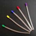 Flexjet Clear Multi-Colored Tips Saliva Ejectors