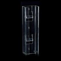 Double Vertical Glove Box Dispenser