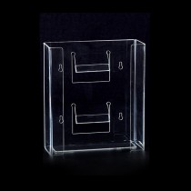 Double Horizontal Glove Box Dispenser