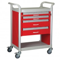 Supply Cart - Red