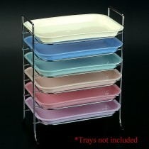 Mini Tray Rack - Chrome