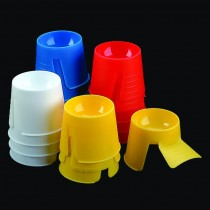 DAPDISH Dental Dappen Dishes - Assorted Colors
