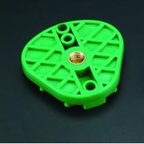 Oblong Articulator Mint Plate